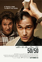 50/50 movie poster