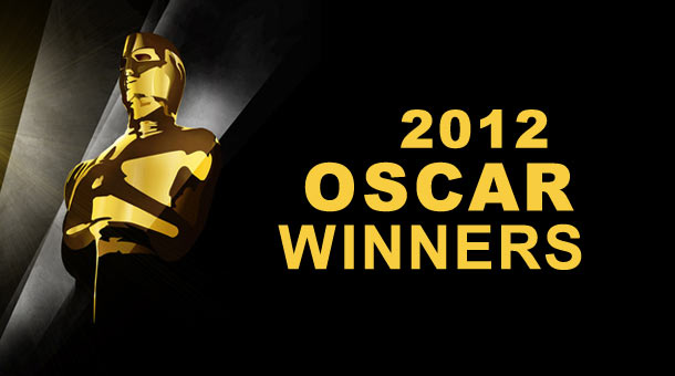 2012 Oscar Winners Awards
