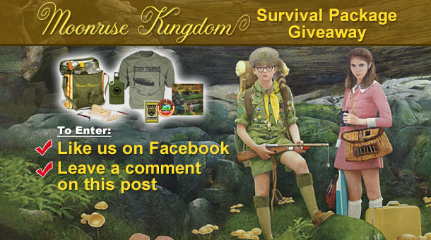 Giveaway: Moonrise Kingdom Survival Package News