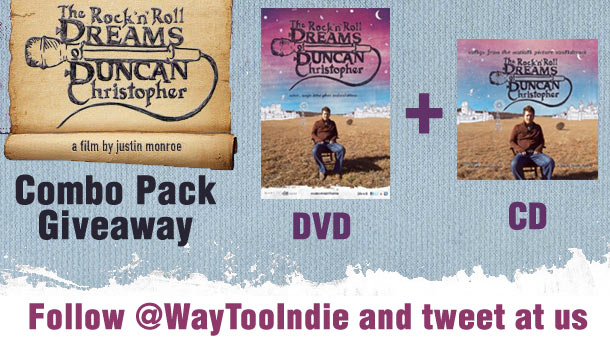 "Giveaway: ""The Rock 'n' Roll Dream of Duncan Christopher"" Combo Pack"