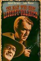 The Man Who Shot Liberty Valance Movie cover