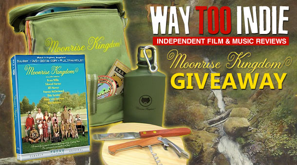Giveaway: Moonrise Kingdom Blu-ray Prize Pack