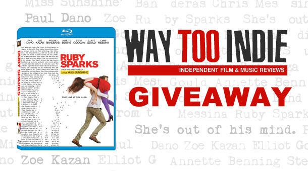 Giveaway: Win Ruby Sparks on Blu-ray