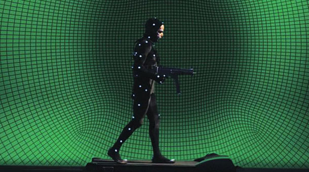 Motion Capture scene in Holy Motors