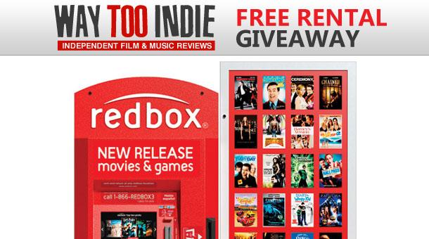 Giveaway: Free Redbox Rentals