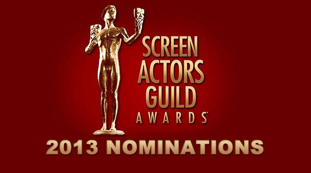 2013 Screen Actors Guild Award Nominations Awards