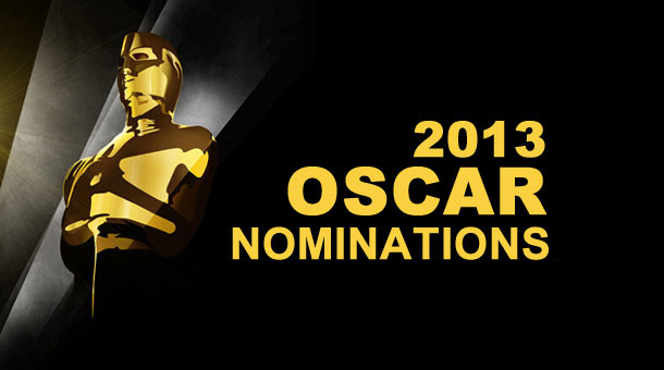 2013 Oscar Nominations Awards