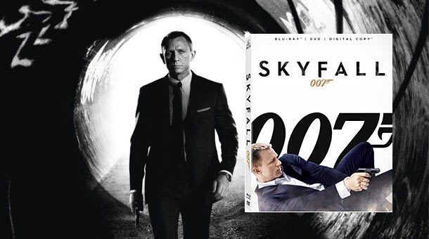 Skyfall on Blu-ray & DVD February 12th