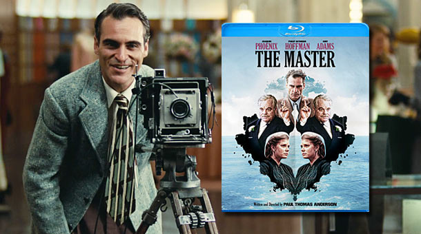 The Master on Blu-ray & DVD February 26th News