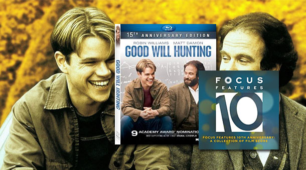 Win a Good Will Hunting Blu-ray and Focus Features Score Soundtrack News