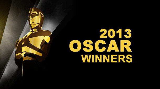 2013 Oscar Winners Awards