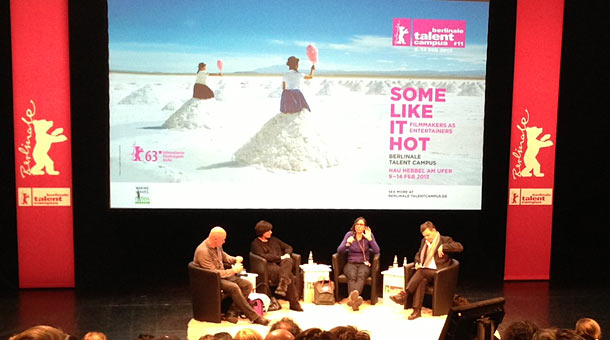 Panel Discussion with Berlinale Talent Campus