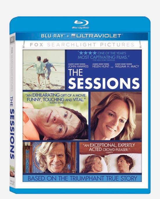 The Sessions Blu-ray Cover