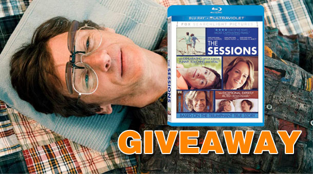Giveaway: Win The Sessions on Blu-ray News