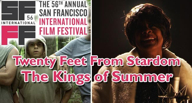 2013 SFIFF: Twenty Feet From Stardom & The King of Summer