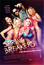 Spring Breakers Movie cover