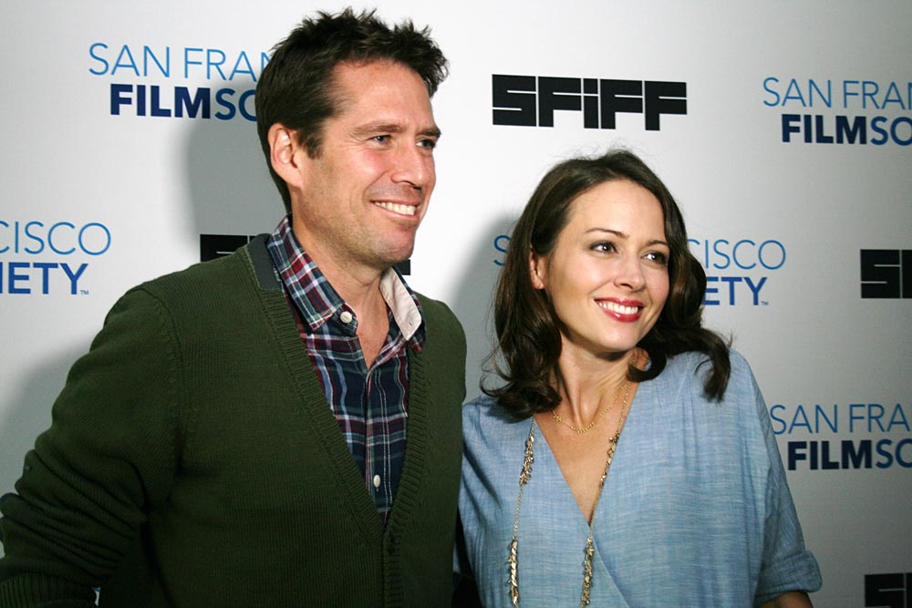 Alexis Denisof and Amy Acker