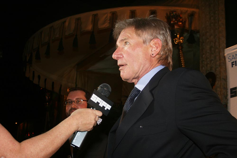 Harrison Ford Interviewed