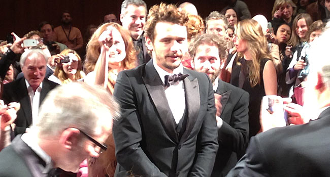 James Franco at Premiere
