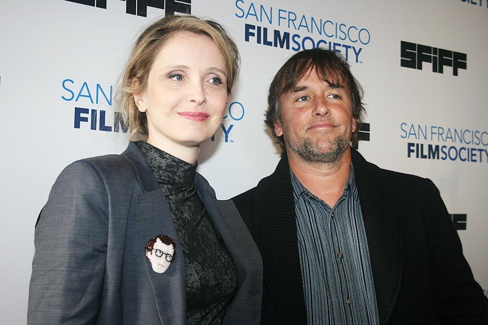 Julie Delpy and Richard Linklater