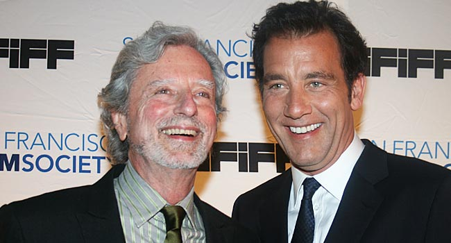 Phillip Kaufman and Clive Owen