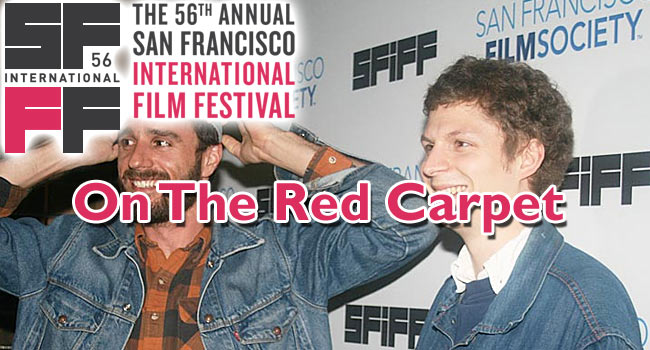On the Red Carpet of SFIFF – Photos of Michael Cera, Richard Linklater, George Lucas & more