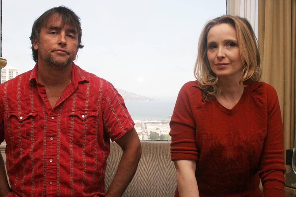 Richard Linklater and Julie Delpy