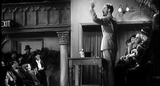 The 39 Steps - Hannay's Babble scene