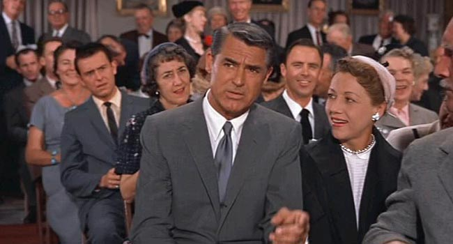 North by Northwest - Auction Audible scene