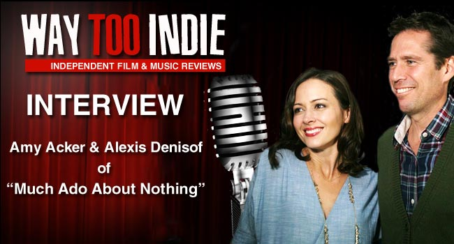 Interview: Amy Acker & Alexis Denisof of Much Ado About Nothing
