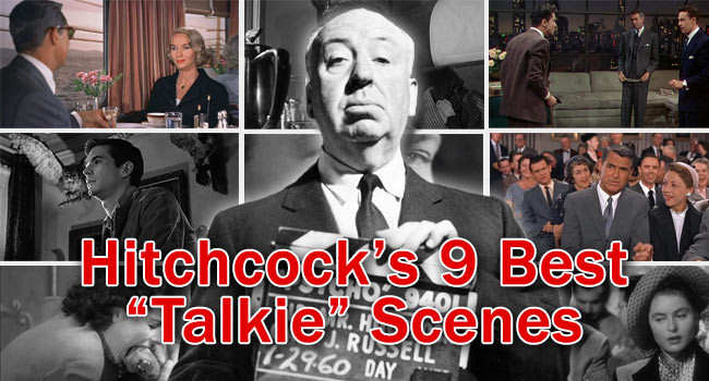 "Hitchcock's 9 Best ""Talkie"" Scenes"