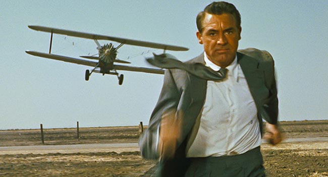 North by Northwest - Nowhere to Hide scene
