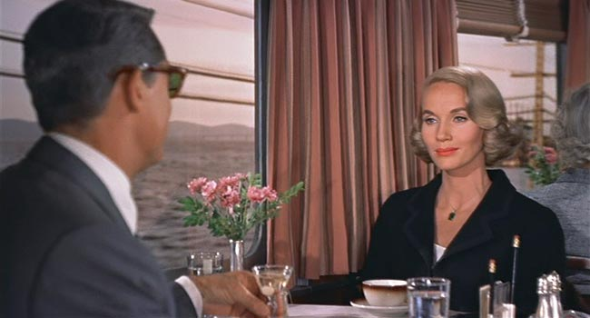 North by Northwest - Sex on a Train scene