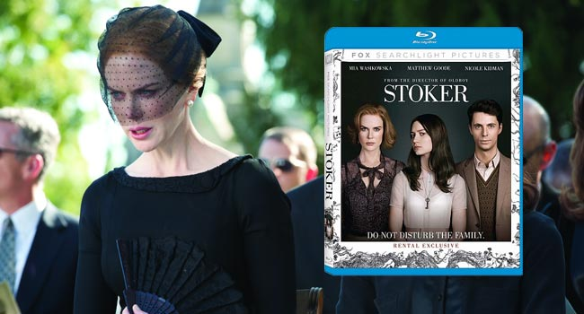 Stoker on Blu-ray & DVD June 18th