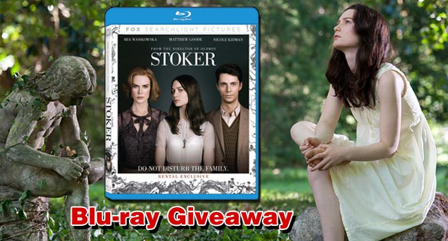 Giveaway: Win Stoker on Blu-ray