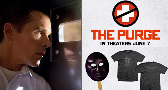 Giveaway: The Purge Exclusive T-Shirt News
