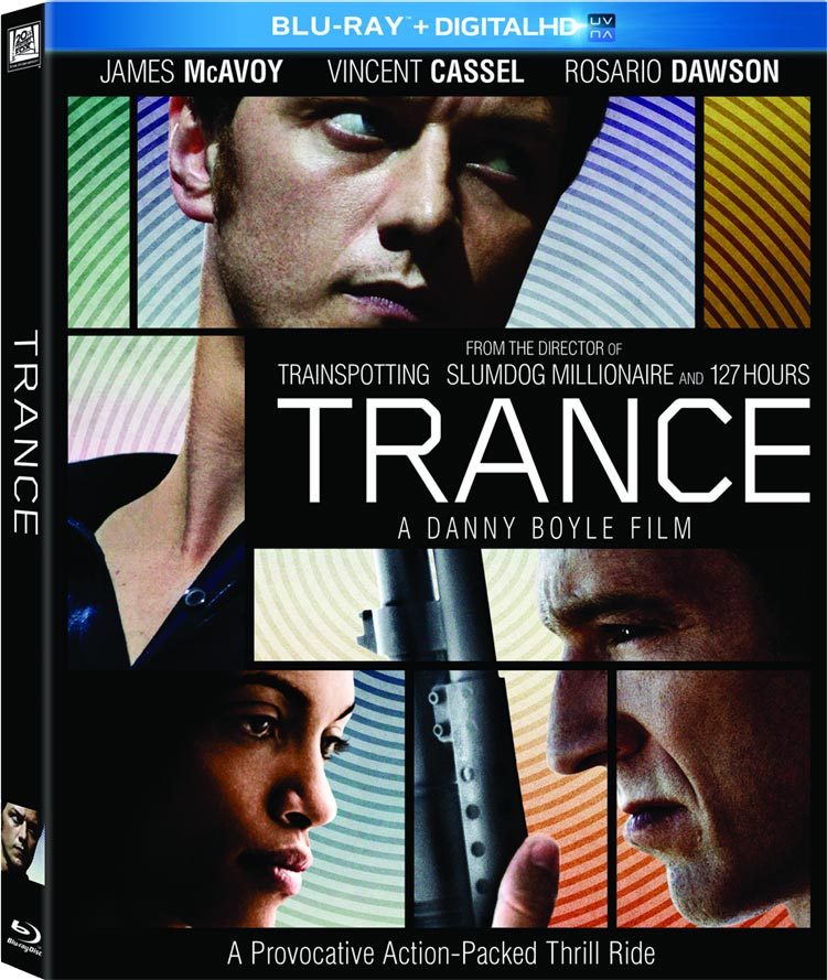 Trance Blu-ray Cover