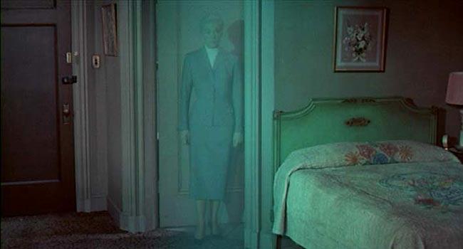Vertigo - The Green Ghost scene