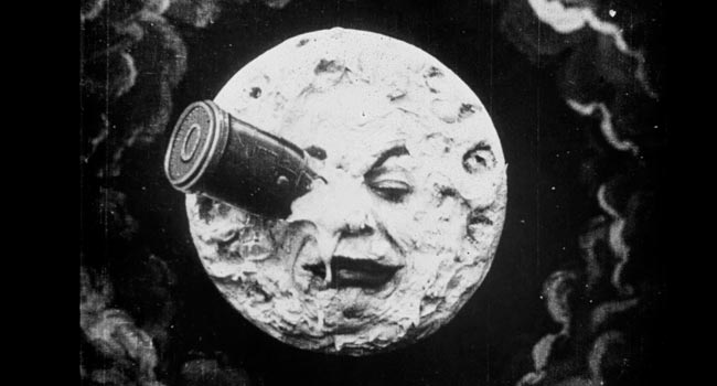 A Trip to the Moon silent film