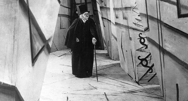 The Cabinet of Dr. Calgari silent film