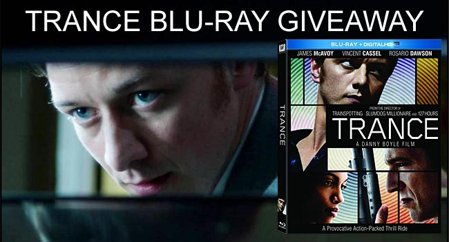 Giveaway: Win Trance on Blu-ray
