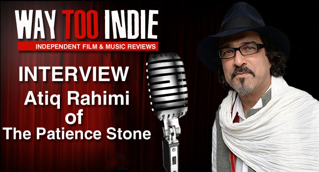 Interview: Atiq Rahimi of The Patience Stone