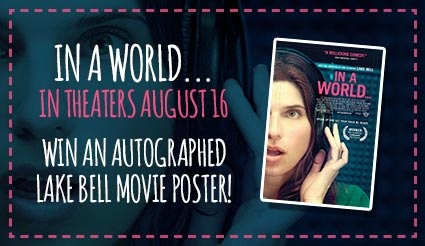 Lake Bell Autographed Movie Poster
