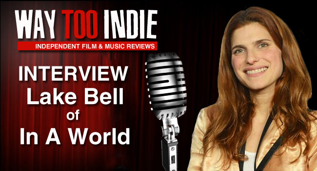 Interview: Lake Bell of In a World