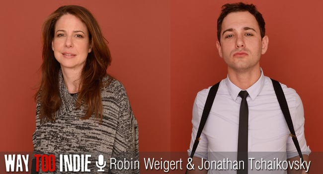 Interview: Robin Weigert and Jonathan Tchaikovsky of Concussion