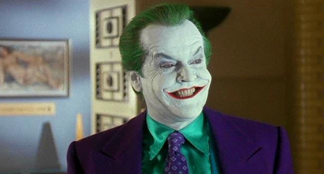 Jack Nicholson As Joker