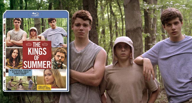 Giveaway: The Kings of Summer Blu-ray