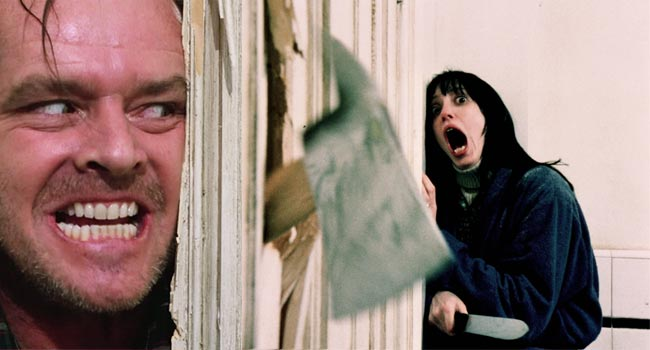 The Shining Axe Scene