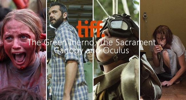 TIFF 2013: The Green Inferno, The Sacrament, Canopy & Oculus Film Festival