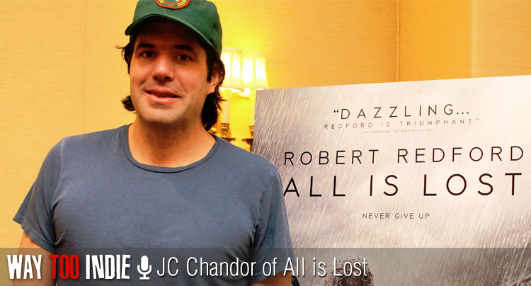 JC Chandor Talks 'All is Lost', Robert Redford's Silent Performance